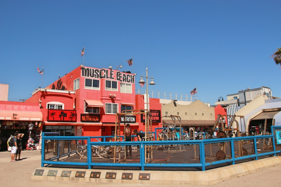 Muscle Beach, Venice, California