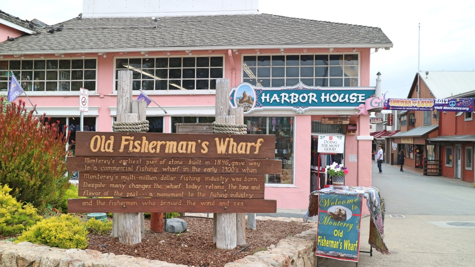 Old Fisherman's Wharf, Monterey, California