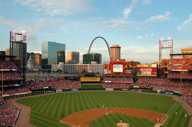 Busch Stadium, St. Louis, Missouri, USA