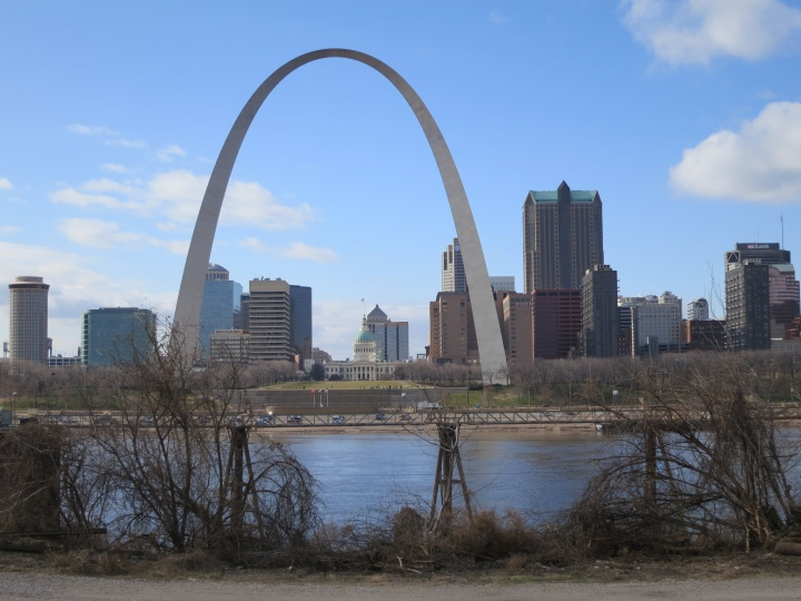 The Gateway Arch, St. Louis, Missouri