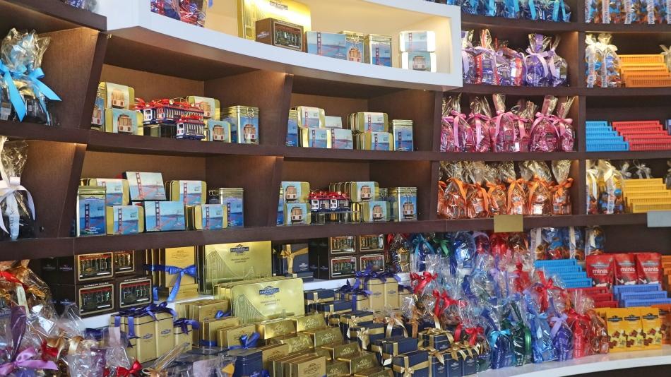 Ghirardelli Chocolate, San Francisco, USA