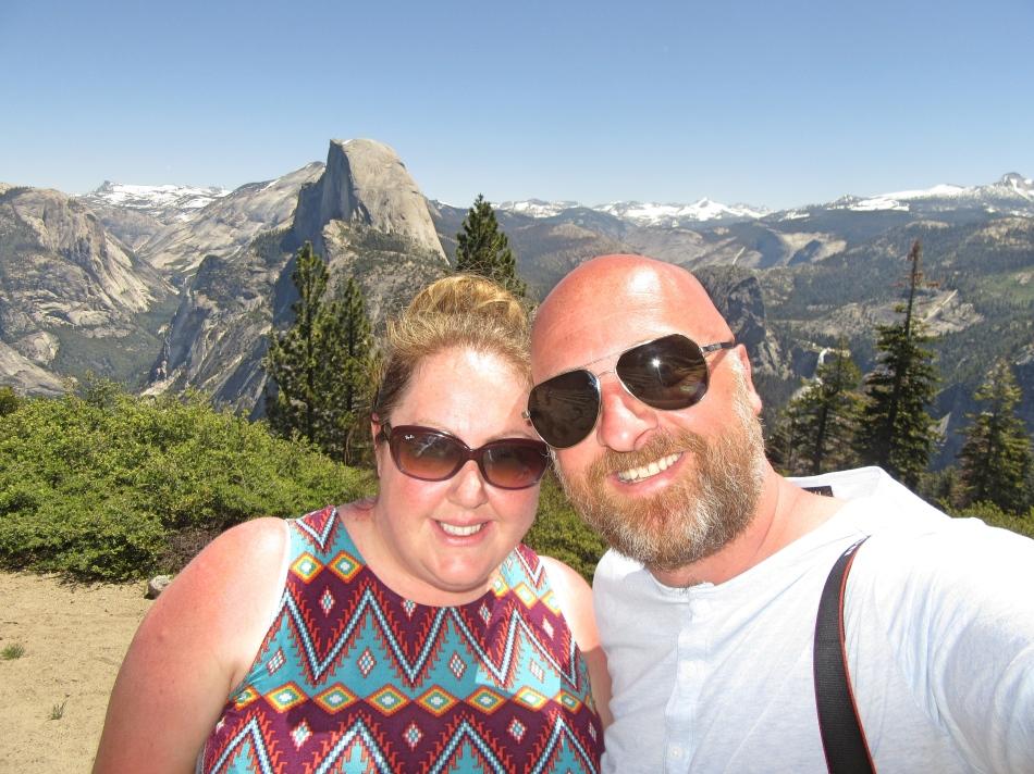 Mr ESLT and I at Yosemite National Park, California, USA