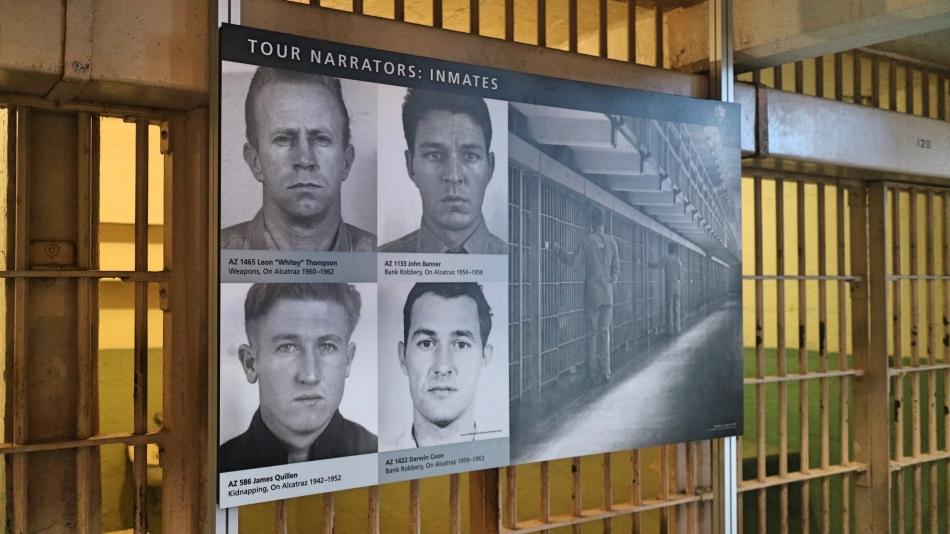 Audio Tour Inmates Alcatraz