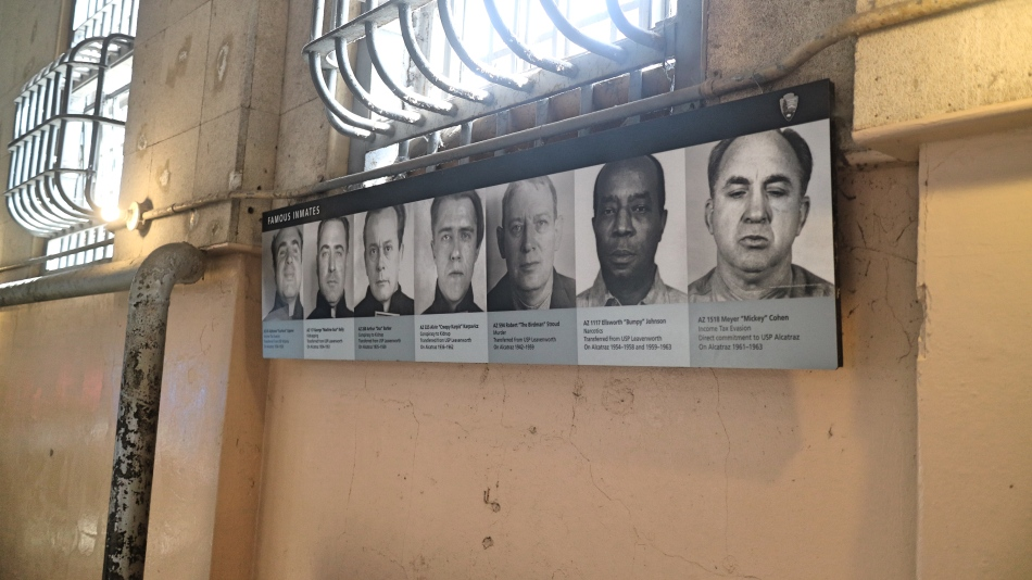 Criminals at Alcatraz