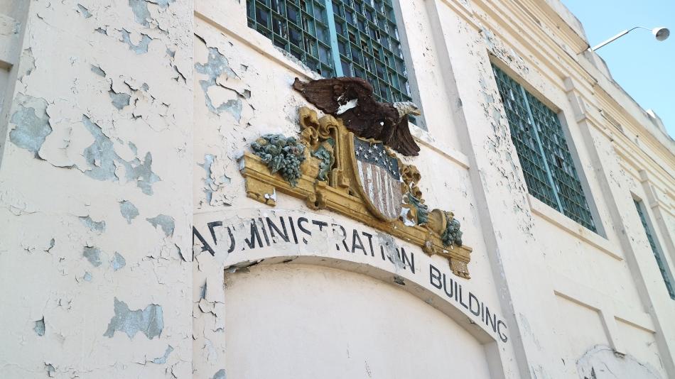 Alcatraz Admin Building