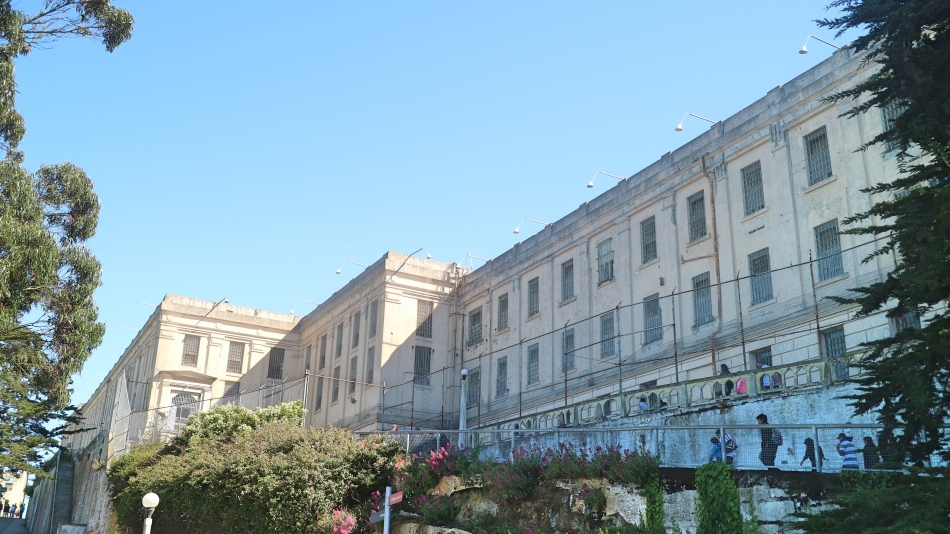 Outside Alcatraz