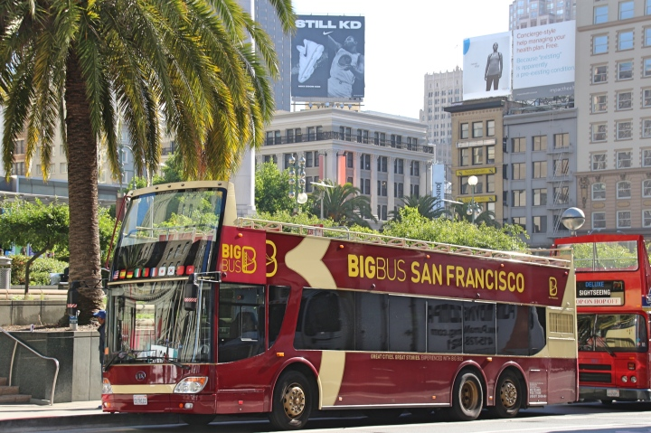 USA Exploring San Francisco The City By The Bay With Big Bus - Bus tours usa