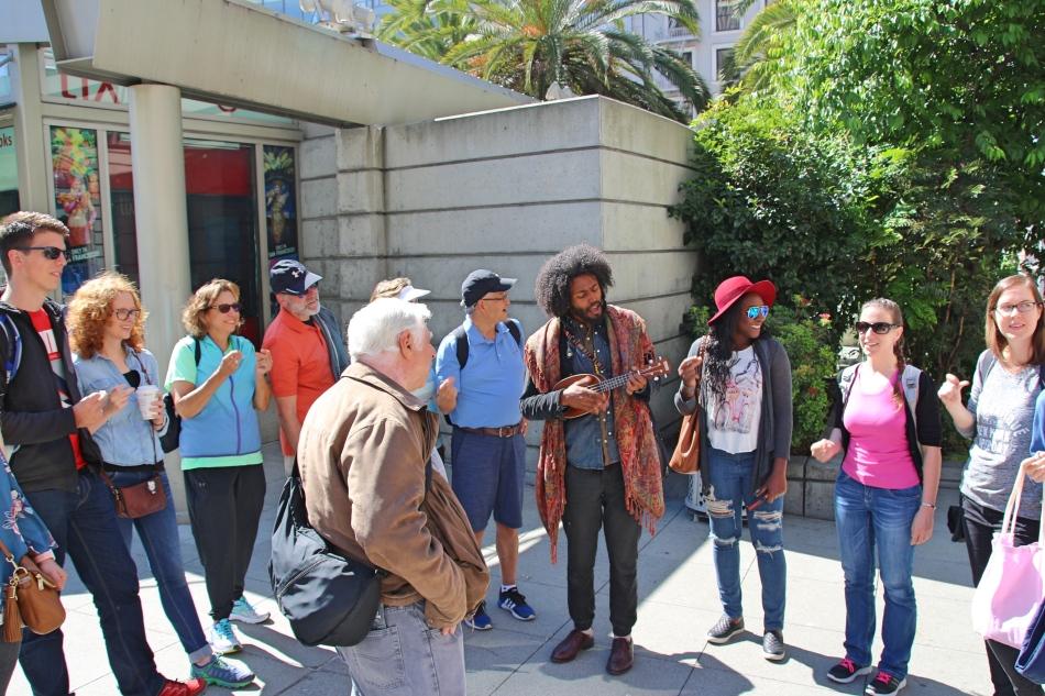 Free Walking Tour, San Francisco, USA