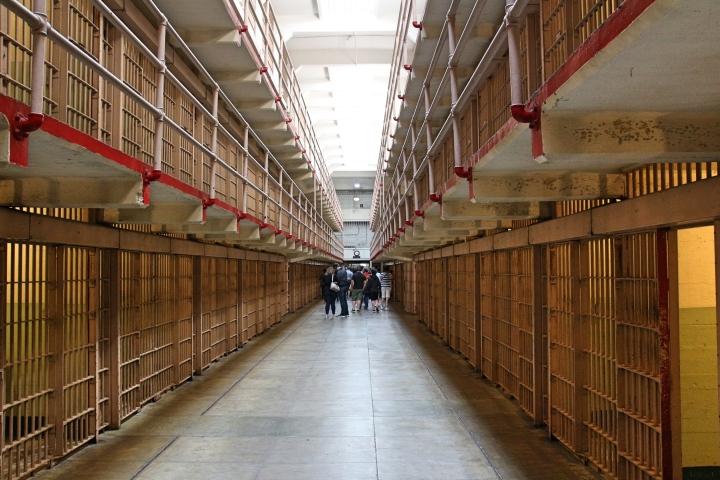 Corridor at Alcatraz