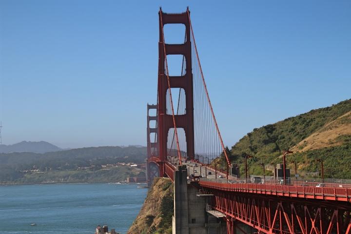 The Golden Gate Bridge, San Fransisco, USA