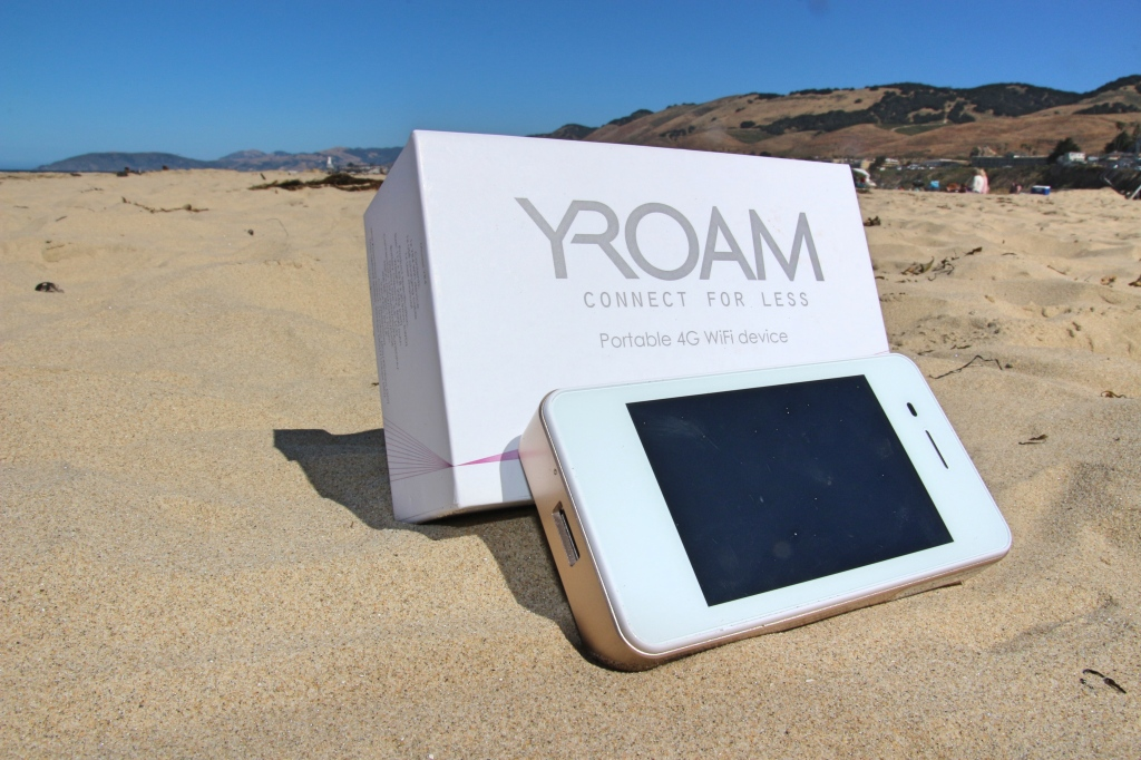 YRoam at Pismo Beach, California
