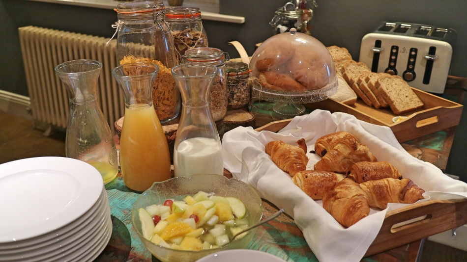 Buffet Breakfast at The Plough, Lupton