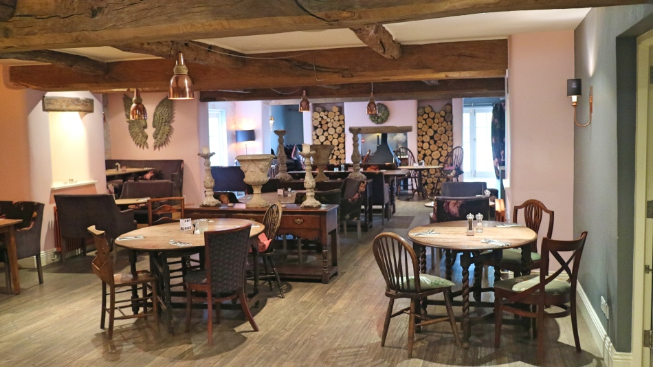 Dining Room at The Plough, Lupton