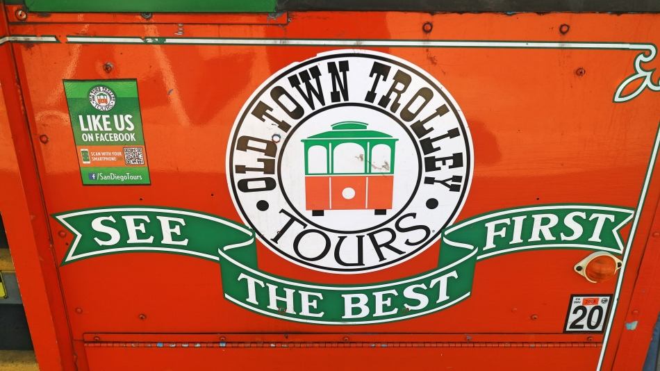 Old Town Trolley Tours, San Diego, California