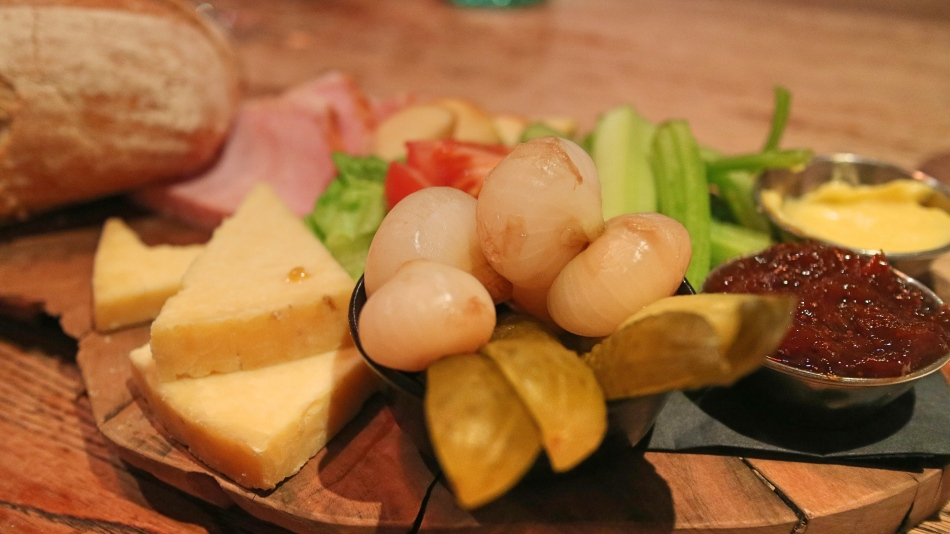 Ploughman's at The Plough, Lupton