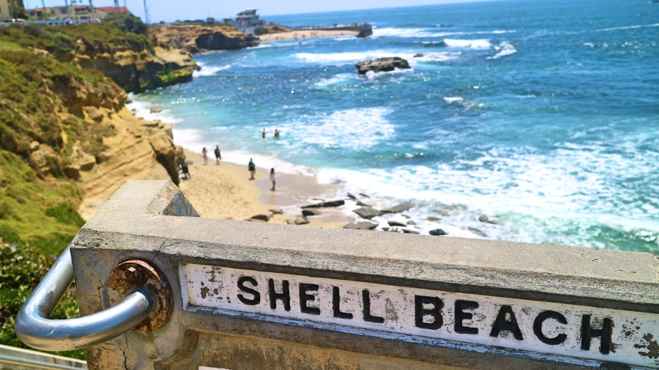 Shell Beach, La Jolla, California