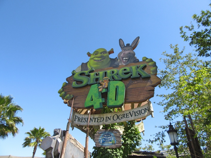 Shrek 4D, Universal Studios Hollywood