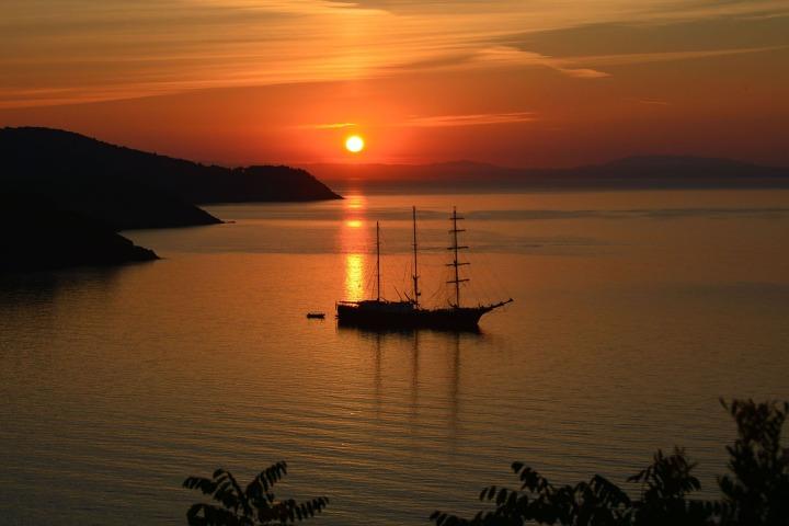 Elba Sunset, Italy
