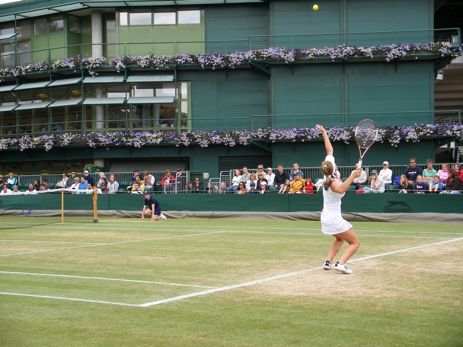 Tennis at Wimbledon, UK