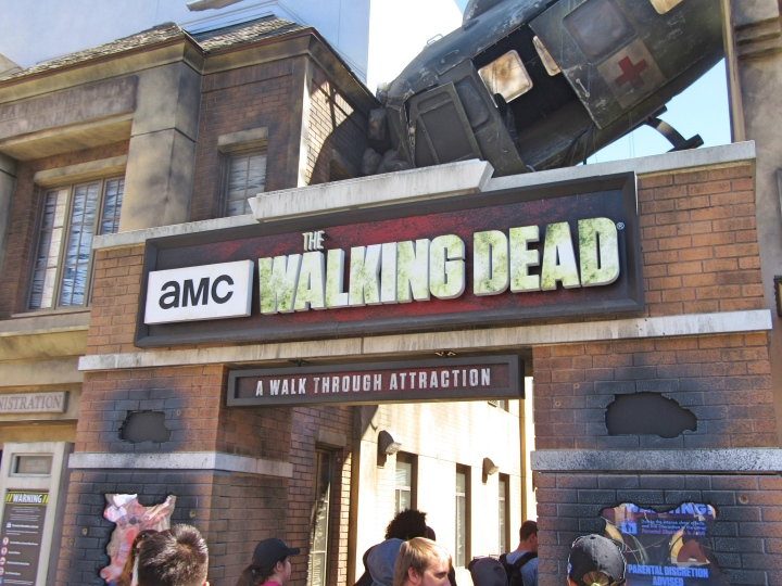 The Walking Dead Attraction, Universal Studios Hollywood