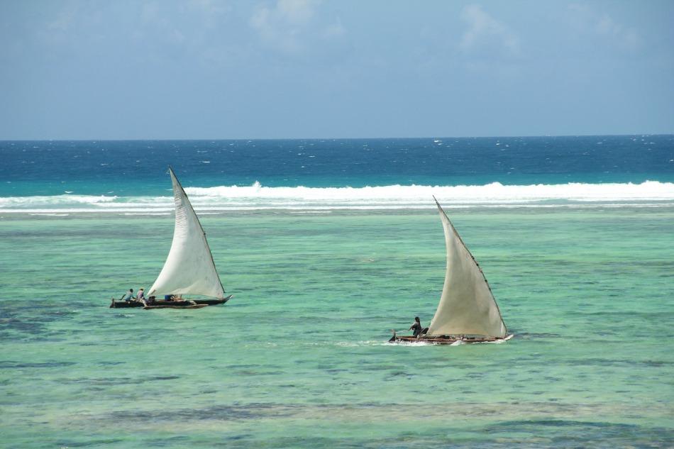 Boats, Zanzibar, Africa