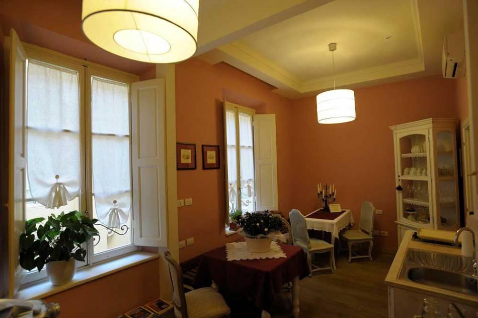 Tea Room at La Dimora degli Angeli Florence