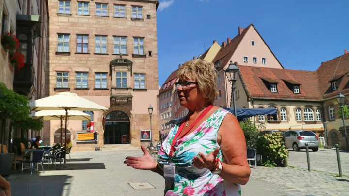 Gabi - Guided Walking Tour, Nuremberg, Germany