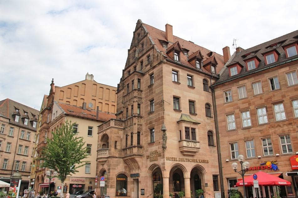 Hotel Deutcher Kaiser, Nuremberg, Germany