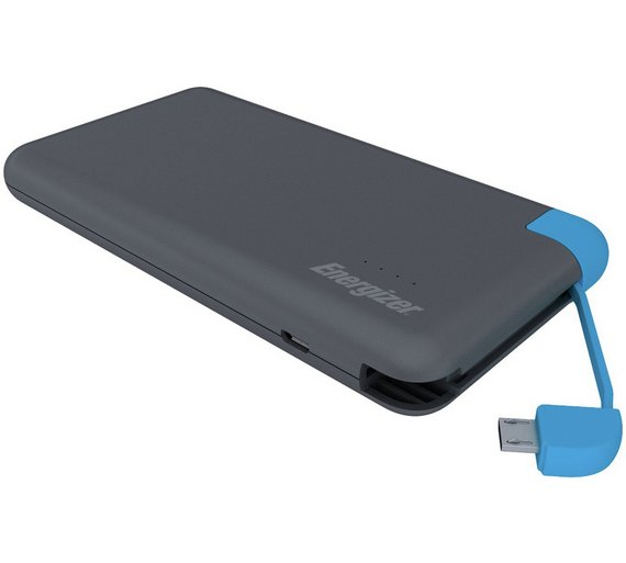 slim 8,000 mAh power bank
