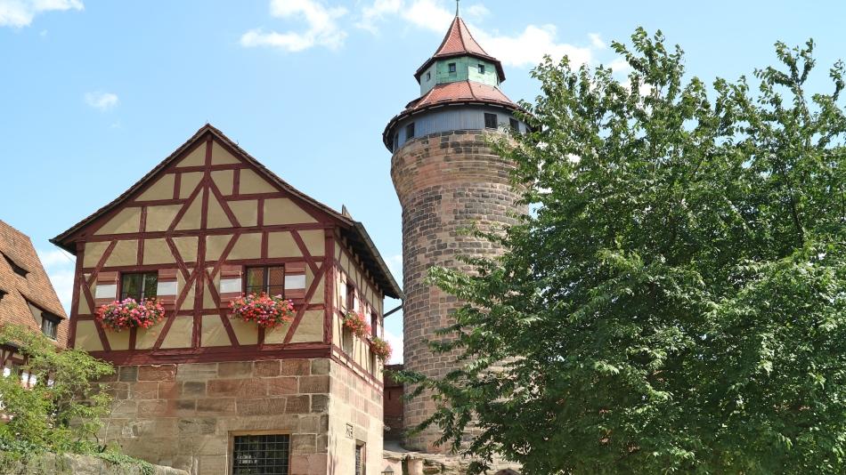 Imperial Castle, Nuremberg, Germany