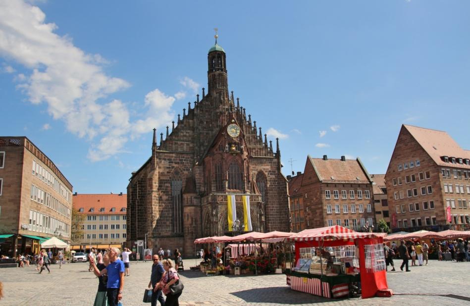 Nürnberg Hauptmarkt, Germany
