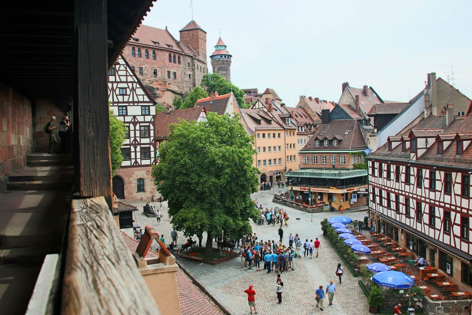 Views over Nuremberg, Germany