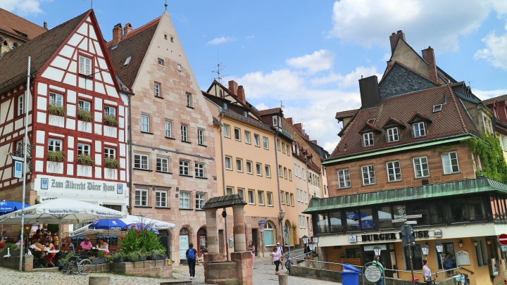 Tiergärtnertorplatz, Nuremberg, Germany