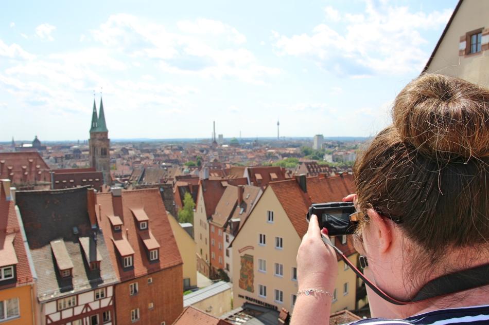 Vicky Viewing Nuremberg, Germany
