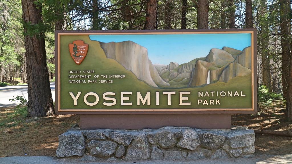 Yosemite Sign, California, USA