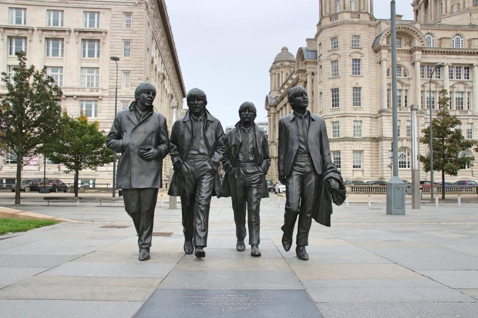 Beatles Statue, Liverpool