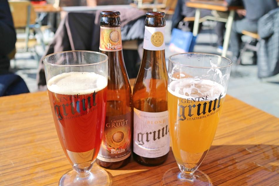 Beers in Ghent, Belgium