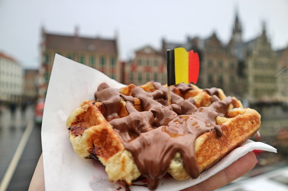 Belgian Waffle in Ghent