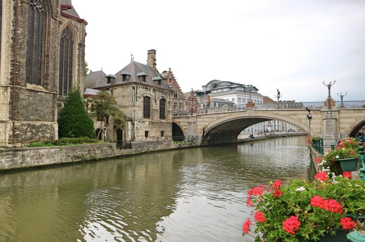 Boat Trip in Ghent, Belgium