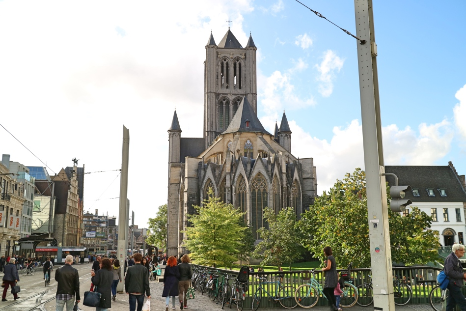 Church in Ghent, Belgium