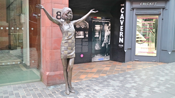 Cilla in Liverpool