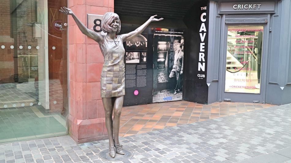 Cilla in Liverpool