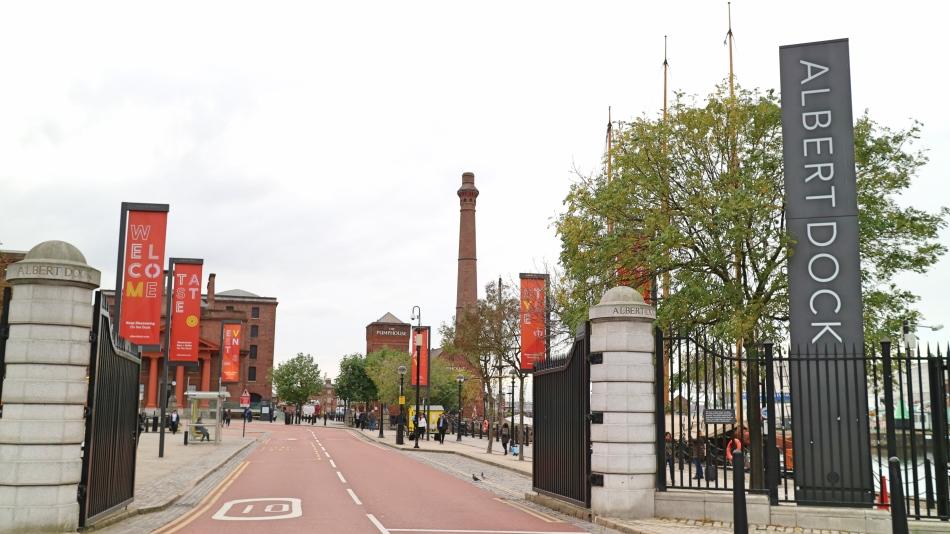 Entrance to Albert Dock, Liverpool