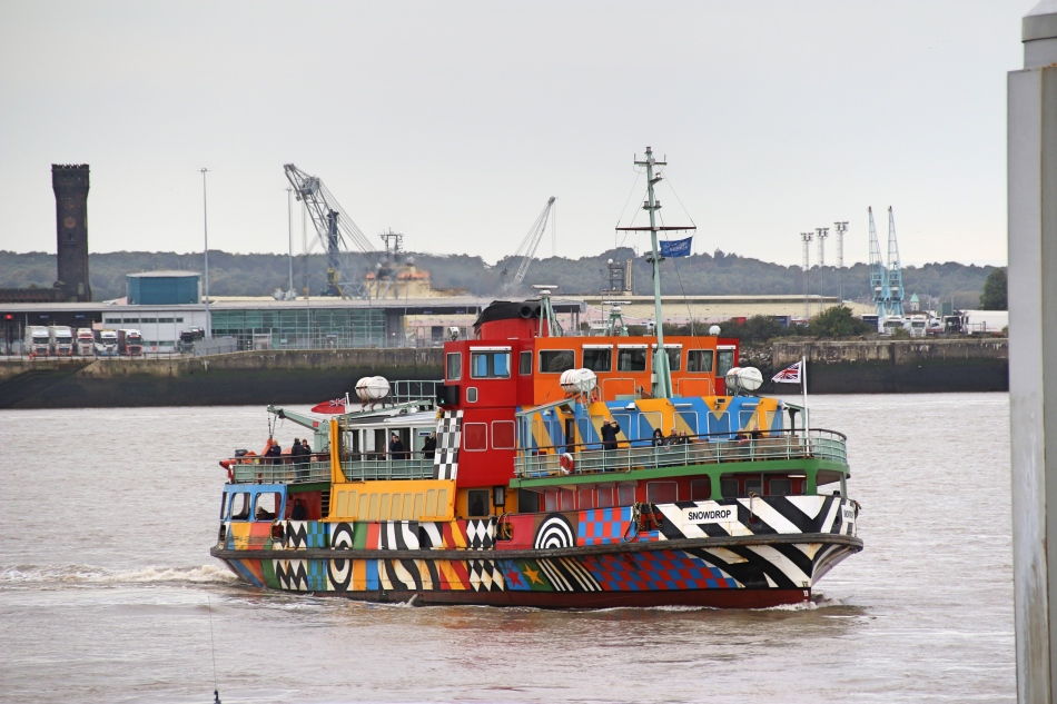 Ferry Across the Mersey, Liverpool