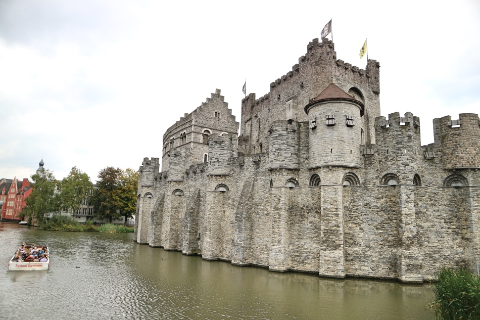 Ghent Castle, Ghent, Belgium