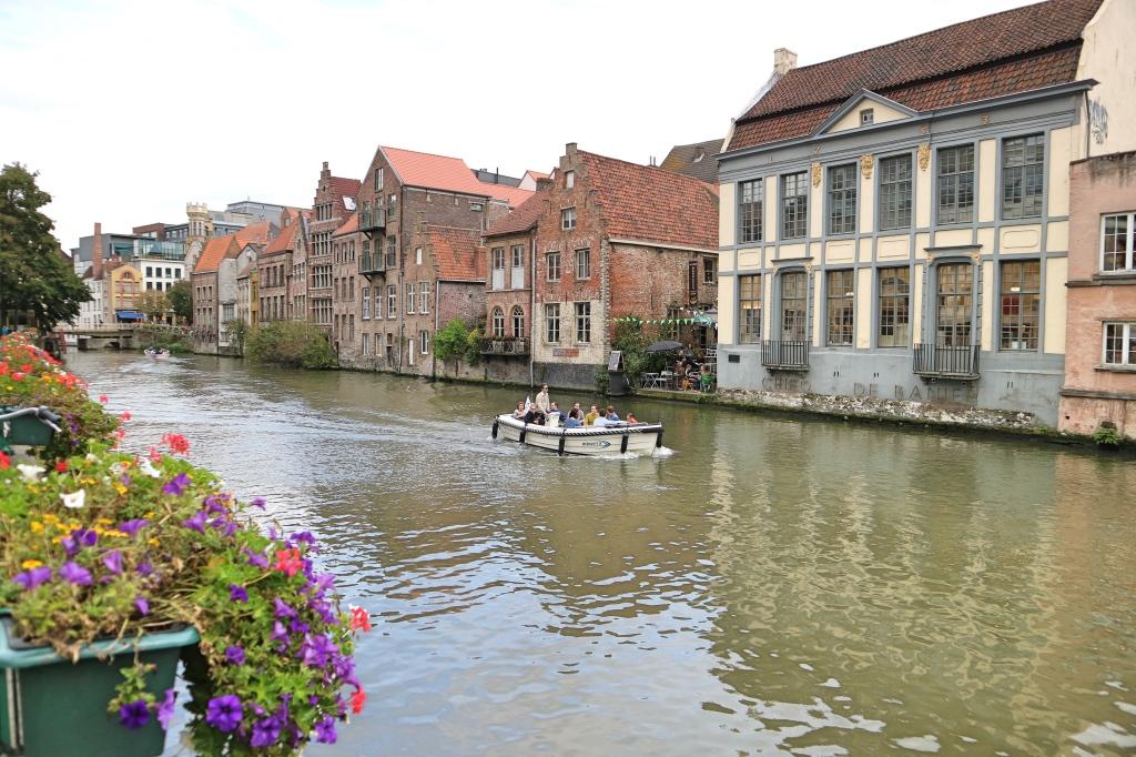 Ghent Waterway, Ghent, Belgium