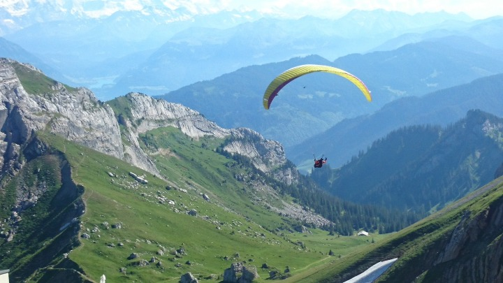 Skydive when travelling