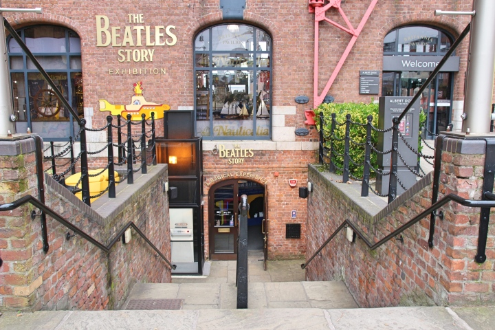 The Beatles Story Entrance, Liverpool