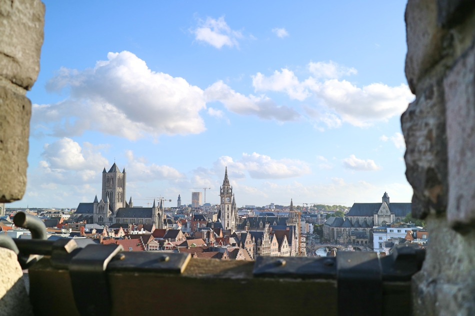 View from the Castle, Ghent, Belgium