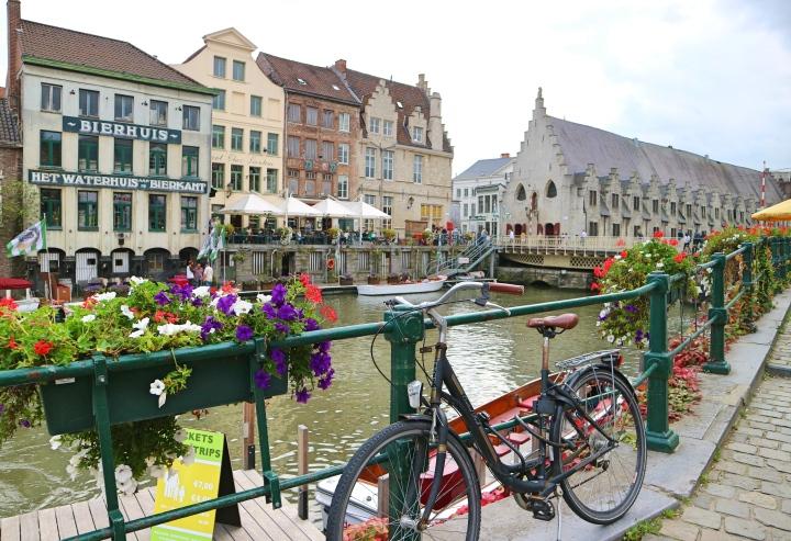 Waterfront Ghent, Belgium